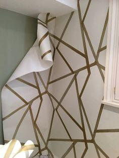 Interior Wallpaper, Wallpaper Paste, More Wallpaper, How To Apply Wallpaper, Simple Wallpapers, Diy Hanging, Interiors, Easy, Interior
