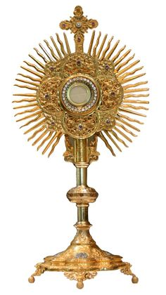 The Most Holy Blessed Sacrament, Precious Body of Christ. Also Precious Blood Soul And Divinity of Jesus Christ Our dear Lord.