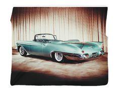 "1957 Cadillac Eldorado Biarritz Photo Blanket / Wall Banner 50 x 60"" or 60 x 80"""
