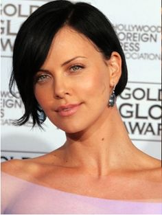 Image detail for -Charlize Theron Black Hair