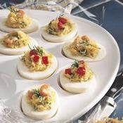 Parsley Deviled Eggs recipe from Betty Crocker