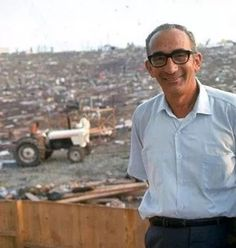 Max Yasgur His Farm Was The Site Of The Woodstock Music Festival Bethel NY, 1969 ☮️