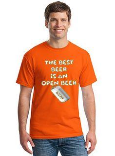 6ddcac8f761 Best Beer T Shirt Gildan Men s Women s Unisex Heavy Cotton Tee Open Beer  Shirt Classic Fit