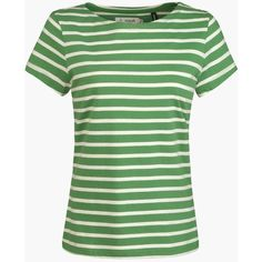 Women's Seasalt Sailor T-shirt (€25) ❤ liked on Polyvore featuring tops, t-shirts, nautical tops, nautical t shirts, sailor top, sailor t shirt and cotton tee