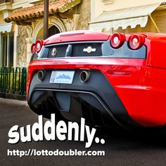 Suddenly..you're in Monaco  Double Your Winnings!  Twitter  https://twitter.com/lottodoubler/status/685766637878951936  Instagram  https://www.instagram.com/p/BAURRSvDZ5Q/  Facebook https://www.facebook.com/lottodoubler  Lottodoubler instant lottery http://lottodoubler.com  #suddenly #millionaire #montecarlo #monaco #ferrari #lotto #double #lottery #lottodoubler #instantlottery #jackpot #win #winner #winnings #chance #luck #lucky #money #instantgames #insta #instant #game #games