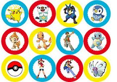 pokemon cupcake toppers & more pokemon party printables