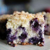 Alton Brown's Blueberry Buckle Recipe