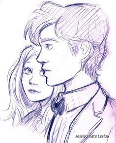 Resultado de imagen para bocetos de parejas anime