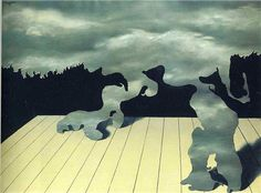 René Magritte - The muscles of the sky, 1927Fosterginger.Pinterest.ComMore Pins Like This One At FOSTERGINGER @ PINTEREST No Pin Limitsでこのようなピンがいっぱいになるピンの限界