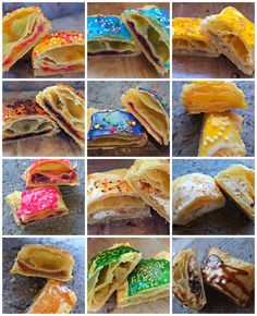 Healthy, homemade pop tarts.  Great pictures.  Neat idea of color coding the outside to know what's on the inside.
