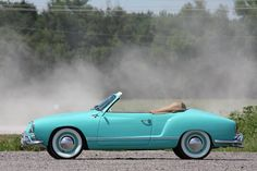 The Karmann Ghia was first displayed in 1953 at the Paris Auto Show. This car is an excellent driver with great looks and super rare accessories. Vw Cars, Porsche Cars, Karmann Ghia Convertible, Volkswagen Karmann Ghia, Sand Rail, Volkswagen Models, Cabriolet, Chevy Pickups, Dream Cars