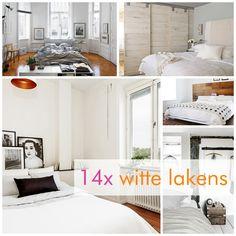 Nu op het blog: 14x inspiratie voor witte lakens! http://www.textielwinkel.nl/blog/14x-witte-dekbedden-inspiratie/