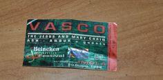 biglietto di vasco rossi 20 giugno 1998