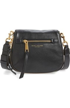 MARC JACOBS 'Small Recruit' Pebbled Leather Crossbody Bag available at #Nordstrom