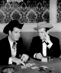 Remembering JAMES GARNER – – As Bret Maverick in the western-comedy series, Maverick. He is pictured here with costar Jack Kelly (Bart Maverick). Maverick Tv, James Gardner, Jack Kelly, Cultura General, Tv Westerns, Old Tv Shows, Classic Tv, Tv Series, Comedy Series