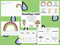 Weather Literacy Station Packet  www.123teachwithme.com