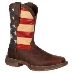Men's Durango Union Flag Western Boots - Multicolor