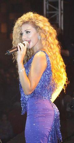 Myriam Fares at Nador Festival 2013