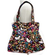 Love this fabric and this bag. I really don't care that it's a diaper bag.