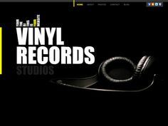 Moonfruit Template - Vinyl #website #design