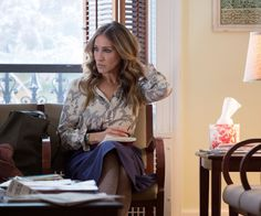 9 Things to Know About Sarah Jessica Parker's Costumes on Divorce - She keeps her accessories simple (and Parker loved one of her handbags in particular) from InStyle.com