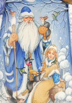 Reasons To Believe - - одна сторона Very Merry Christmas, Christmas Books, Father Christmas, Blue Christmas, Christmas And New Year, Winter Christmas, Vintage Christmas, St Claus, Russian Santa