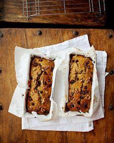 Zucchini Bread Date & Walnut Zucchini Loaf Loaf Recipes, Baking Recipes, Healthy Recipes, Date Bread, Zucchini Loaf, Delicious Breakfast Recipes, Delicious Food, Dessert Bread, Sweet Bread