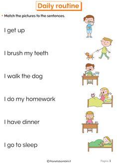English Activities For Kids, English Grammar For Kids, Learning English For Kids, Teaching English Grammar, English Worksheets For Kids, English Lessons For Kids, Kids English, English Reading, English Language Learning