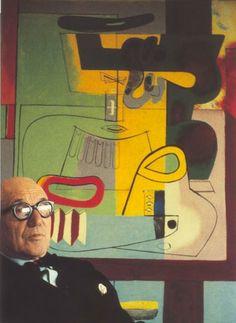 Le Corbusier, painter.