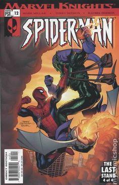 Marvel Knights Spider-Man (2004) 12 Marvel Comics Modern Age Comic book covers Super Heroes VilliansGreen Goblin