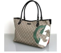 GUCCI Italian Flag Collection Handbag