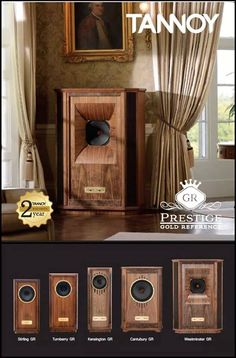 TANNOY line up , from the affordable Mini Autograph mini to the sublime . Stereo Passion International