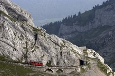 Things to do in Lucerne - The world's steepest cog-railway | Switzerland