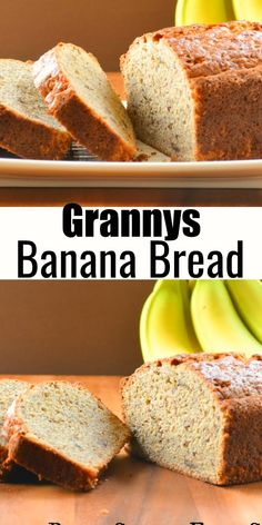 Granny& Banana Bread Recipe makes the best loaf! It& so moist and delicious with a great crumb! It& a favorite for breakfast, brunch, afternoon tea or dessert. It& will quickly become a favorite quick bread loaf from Serena Bakes Simply From Scratch. Best Homemade Bread Recipe, Homemade Muffins, Brunch, Lemon Desserts, Delicious Desserts, Breakfast Recipes, Dessert Recipes, Blueberry Crumble Bars, Banana Bread Recipes