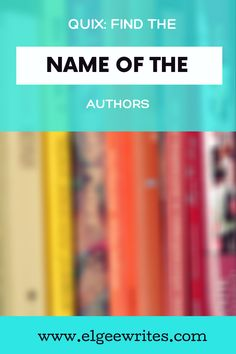 Can you match the books to their respective authors here? Take a Quiz here and share your score. Will you be the top scorer? book quiz