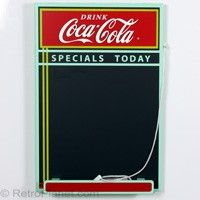 Coca Cola Chalkboard