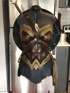 Cosplay Costume Custom made Wonder Woman breast armor from GVM Designs - Tracer Cosplay, Cosplay Armor, Marvel Cosplay, Wonder Woman Art, Wonder Woman Movie, Wonder Woman Cosplay, Game Costumes, Diy Costumes, Woman Costumes