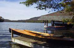 Blue Mountain Lake in the Adirondacks, NY.