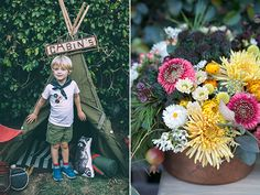 Moonrise Kingdom vintage boy school birthday party   Photos by Scott Clark Photo   Design and styling by Urbanic and 100 Layer Cakelet