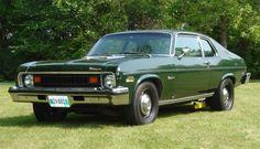 73' Chevy Nova - The color's perfect!
