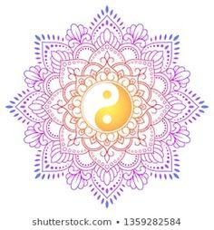 tattoo - mandala - art - design - line - henna - hand - back - sketch - doodle - girl - tat - tats - ink - inked - buddha - spirit - rose - symetric - etnic - inspired - design - sketch Mandala Art Lesson, Mandala Painting, Energy Symbols, Yin Yang Art, Henna Drawings, Doodle Girl, Style Oriental, Mehndi Patterns, Flower Phone Wallpaper