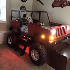 Jeep Bed Fits Twin Mattress My Boy S Favorite S Pinterest