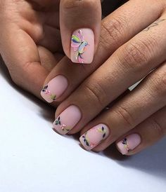 Nail art is a very popular trend these days and every woman you meet seems to have beautiful nails. It used to be that women would just go get a manicure or pedicure to get their nails trimmed and shaped with just a few coats of plain nail polish. Pink Manicure, Matte Nails, Soft Pink Nails, Stylish Nails, Trendy Nails, Nail Designs Spring, Nail Art Designs, Nails Design, Design Design