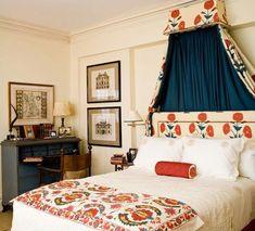Lallarookh poppy fabric by Brunschwig & Fils.  (I miss design...)
