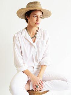 Vintage White Blouse SOLD