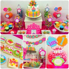 We Heart Parties: Party Information - Cupcake Themed 1st Birthday