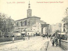 Puerta del Duque, Zaragoza.