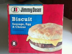 Love these sausage, egg, and cheese biscuits. No longer on my diet. Update: Once a week. Life's short.