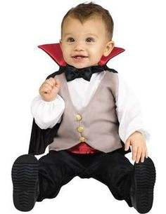 Dracula Gone Cute : Fancy Dress - Lil Dracula Toddler Halloween Costume from Jokers Masquerade at SHOP.COM UK