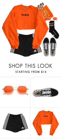 """Set 851 -"" by xjulie99 ❤ liked on Polyvore featuring Vans, adidas and Heron Preston"